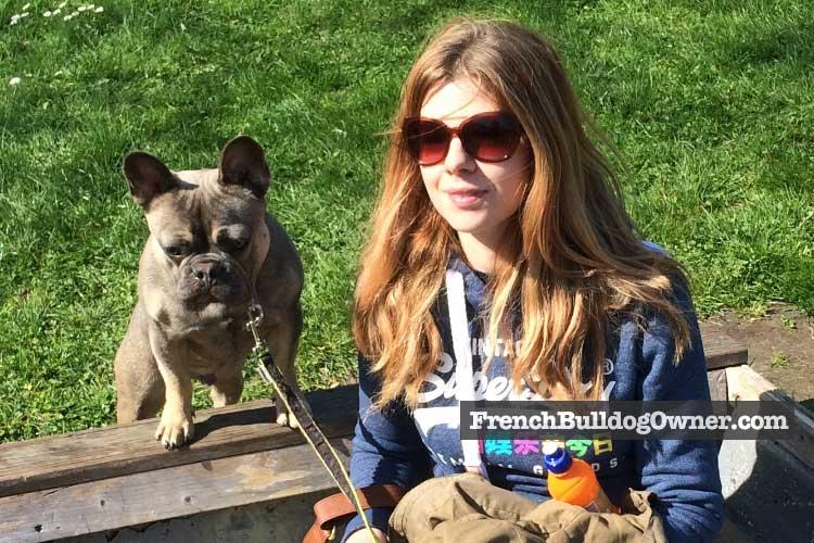 French bulldog walk length
